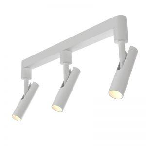 Moderner LED-Deckenstrahler in schwarz oder weiß, 3x3W LED