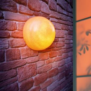 Moonlight Terracotta-Optik mit Eingrabsockel