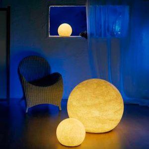 Moonlight  flexibel einsetzbare Kugel Sandstein-Optik