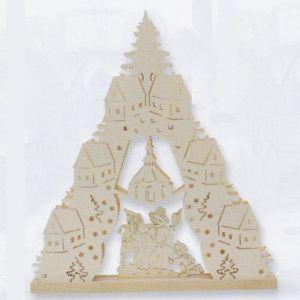 Motiv Schneemann Weihnachtsbeleuchtung