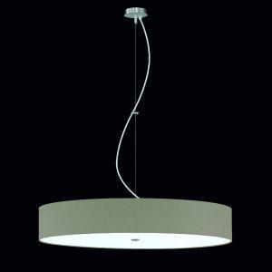 Pendelleuchte Alea Grau-Braun, Acrylglasabdeckung, 50cm