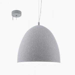 Pendelleuchte in Beton-Optik aus Metall, grau Ø 40,5cm 40,50 cm, 200,00 cm
