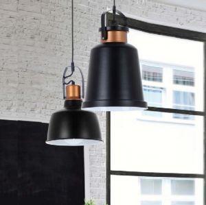 Pendelleuchte im Industrial-Look, Metall Schwarz Kupfer