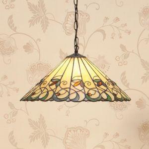 Pendelleuchte Jamelia im Tiffany Stil - 2 Größen