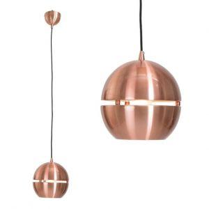 Pendelleuchte in Kupfer mit Lichtstreifen in Ø 26cm 26,00 cm