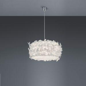 Pendelleuchte Nest aus Kunststoff - Ø 50cm in weiß
