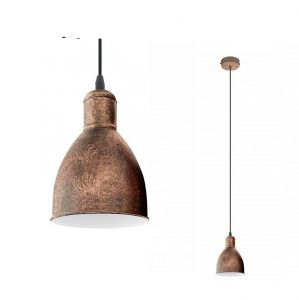 Pendelleuchte im Trend-Design - in Kupfer kupfer