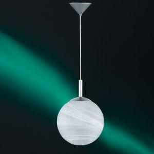 Pendelleuchte, Kugel, Fassung E27 für LED, Alabasterglas, 3 Größen