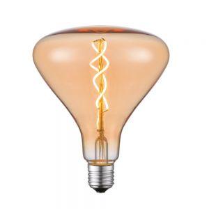 Retro-Stil E27 5LED Filament  Deko Leuchtmittel Amber H 17cm