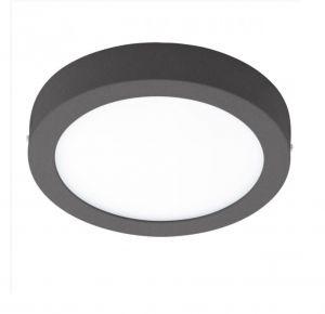Runde LED Außenleuchte Ø 22,5cm in anthrazit anthrazit