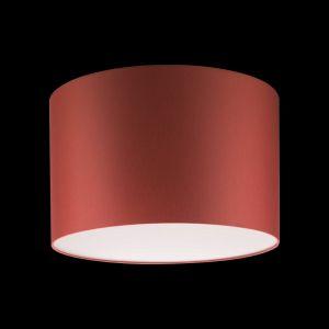 Schirm Stoff rot, rund 45 cm, Höhe 28 cm