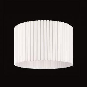 Schirm, Boxplissee Weiß - rund 45 cm, Höhe 28 cm
