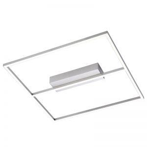 Schlanke LED-Deckenleuchte in quadratischer Form
