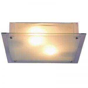 LHG Schlichte und elegante Deckenleuchte 36 x 36 cm - inklusive Leuchtmittel 2x60Watt