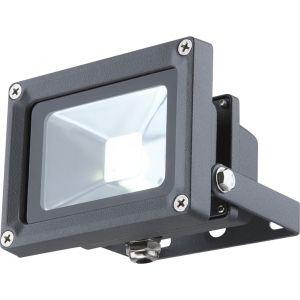 schwenkbare LED Strahler aus Glas und Aluminiumdruckguss klar rechteckig Außenstrahler IP65 kaltweißen 11.5 x 17 cm
