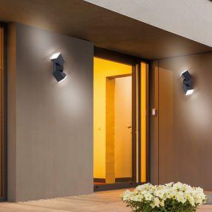 Schwenkbare LED-Außenleuchte Ryan 1- oder 2 flammig