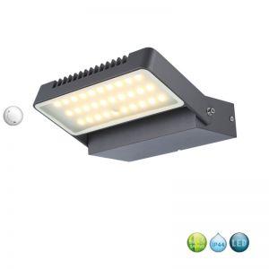 Schwenkbare LED-Außenwandleuchte aus Aluminium,  IP44