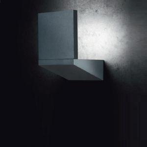 Schwenkbare LED-Außenwandleuchte Paranal, grafit