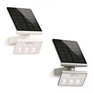 Schwenkbare LED-Solarwandleuchte in zwei Farben