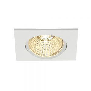 Schwenkbarer LED-Einbaustrahler New Tria in weiß oder alu