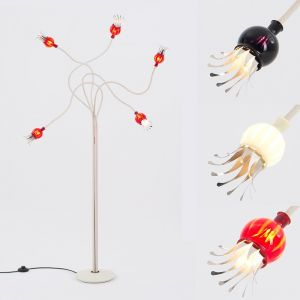 Serien-Lighting 5-flammige Stehleuchte Poppy