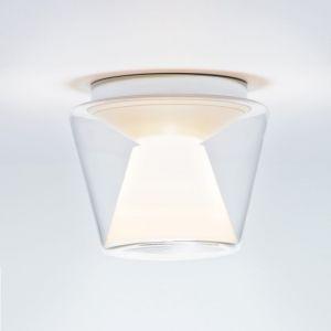 LED-Deckenleuchte Annex LED, Glas klar/opal, LED 15W 1x 15 Watt