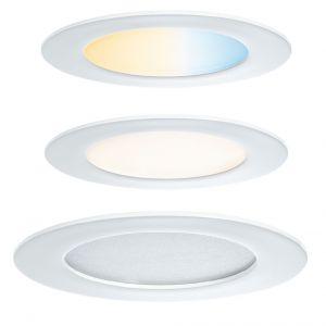 Smart Home Einbaupanel LED 7W rund