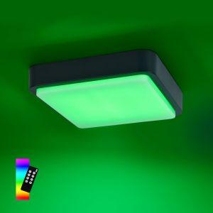 Smart Home LED Außendeckenleuchte Q®-Lenny eckig