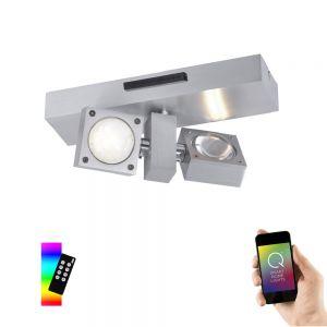 Smart Home LED Deckenleuchte Q®-Nemo 2-flammig
