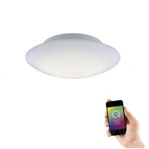Smart Home LED Deckenleuchte Q®-Arktis Ø 32cm 1x 12 Watt, 32,00 cm