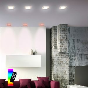 Smart Home LED Einbauleuchte Q®-Vidal 3er Set
