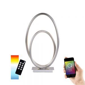 Smart Home LED Tischleuchte Q®-Novio