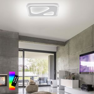 Smart Home LED Wand- und Deckenleuchte Q®-Ariana