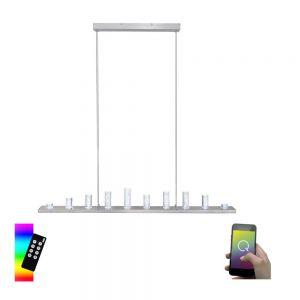 Smart Home LED-Pendelleuchte Q®-Skyline,120 cm Länge