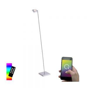 Smart Home LED-Stehleuchte Q®-Fisheye, 2-flammig