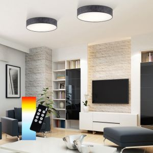Smart Home Stoffschirmleuchte Q®-Kiara