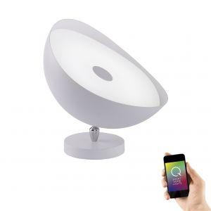Smart Home Tisch- und Deckenleuchte Q®-Alexis Ø25cm 1x 10 Watt, 25,00 cm, 25,00 cm