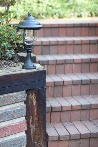 LHG Sockelleuchte schwarz matt , klassische Form 1x 60 Watt, schwarz, 49,00 cm, 25,00 cm, 15,60 cm, 13,00 cm