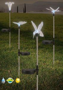 Solar-Erdspieß, LED,dekorativ, Farbwechsel, Höhe 78,5 cm, 4 Motive