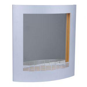 Spiegel Window mit Ablage silber