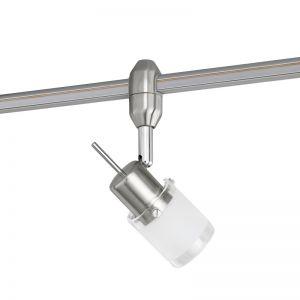 Spot für Hochvolt-Basissystem - Glas weiß mit klarem Rand