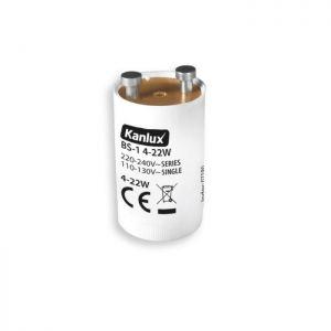 Starter für Leuchtstofflampen, 4 - 22 Watt