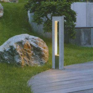 Steinleuchte-Wegeleuchte aus dem Naturprodukt Granit, IP44