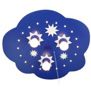 Sternchenwolke mit LED, Sternenhimmelfunktion - 35 cm 3x 40 Watt, 35,00 cm