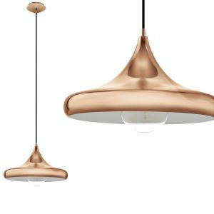 Stilvolle Pendelleuchte in Kupfer glänzend - Ø 40cm