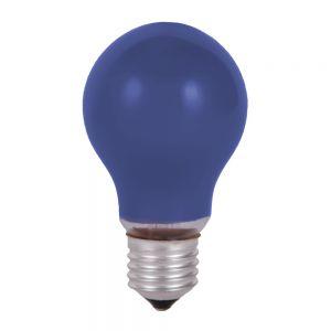Stoßfestes Leuchtmittel  40 W  E27 Classic A  in Blau blau