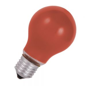 Stoßfestes Leuchtmittel  40 W  E27 Classic A  in Rot 1x 40 Watt, rot
