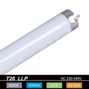 T26 LLP 58W/865 6500K Tageslichtweiß