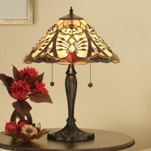 Tischleuchte Chatelet im Tiffany Stil - Groß