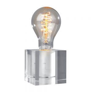Tischleuchte Cubic aus Acryl, exklusive Leuchtmittel
